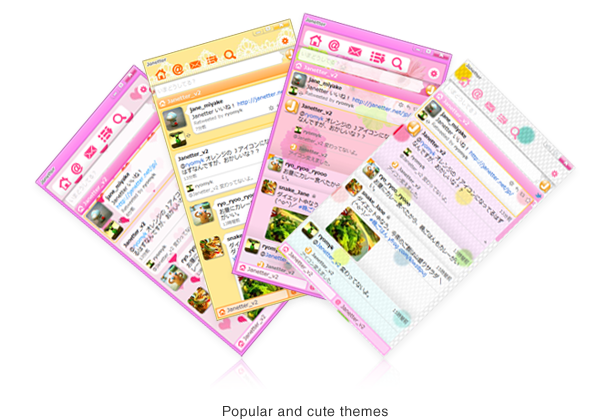 Popular and cute themes